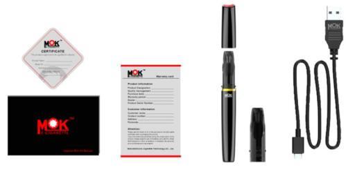 Content of MOK E-pen kit: