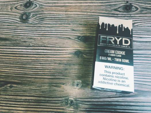 FRYD CREAM COOKIE E-LIQUID Review