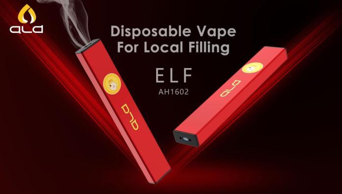 ALD ELF: disposable vape for local filling