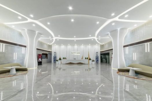 Front desk of Smiss New Office Building