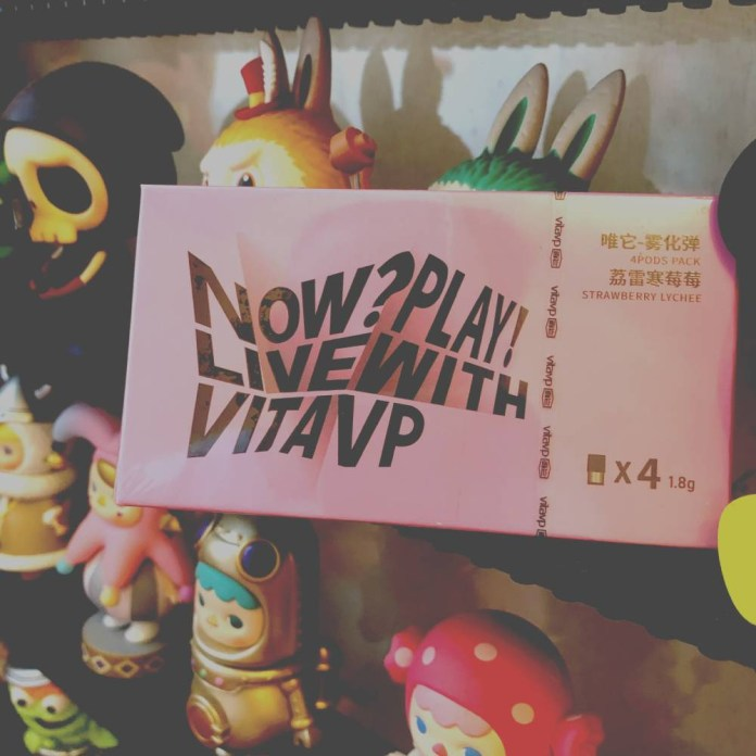 Vitavp new taste STRAWBERRY & LYCHEE review