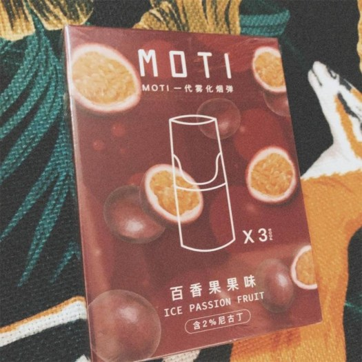 MOTI vape new flavor reivew