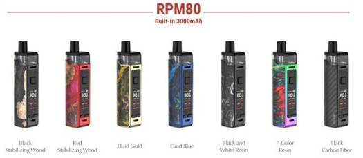 SMOK RPM80 Kit & RPM80 POD Kit review