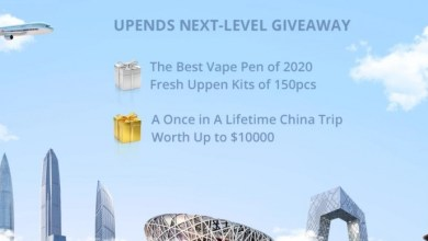UPENDS Next-level Giveaway - Win free vape pens & China Trip