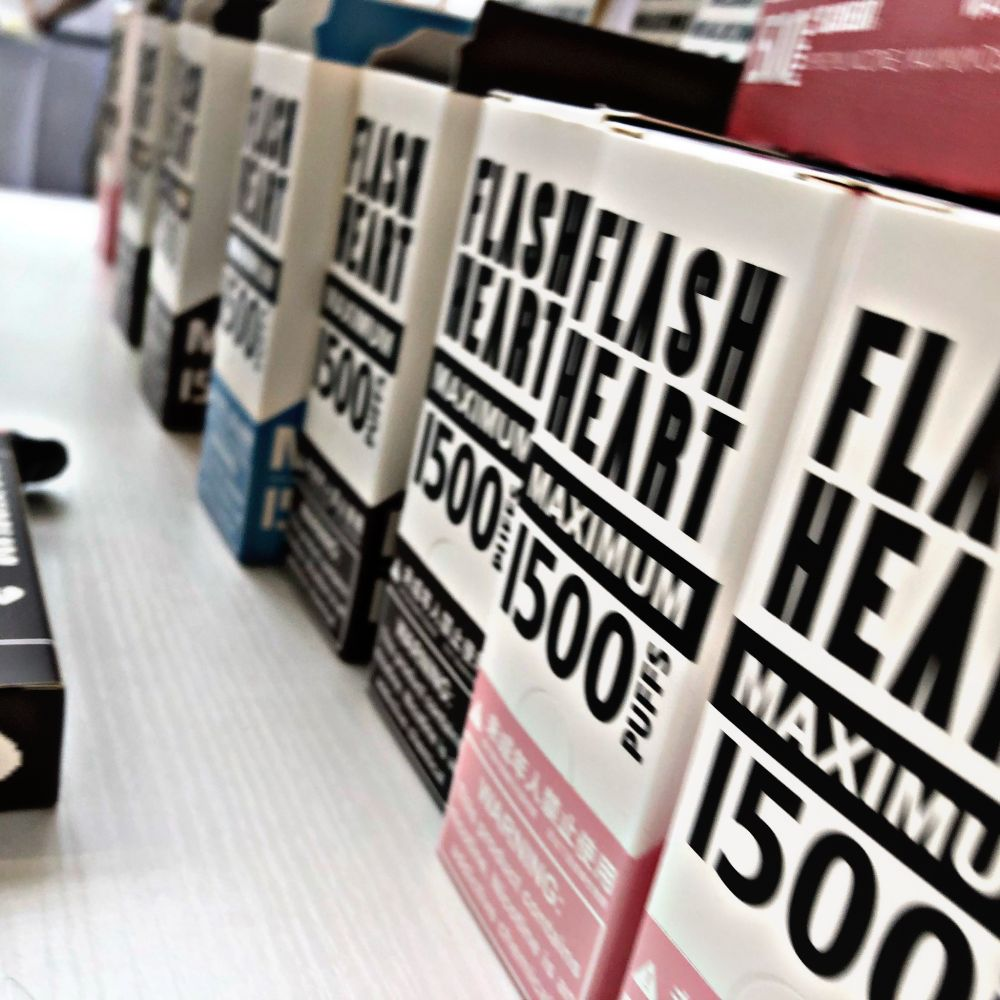 Flash Heart disposable vape review