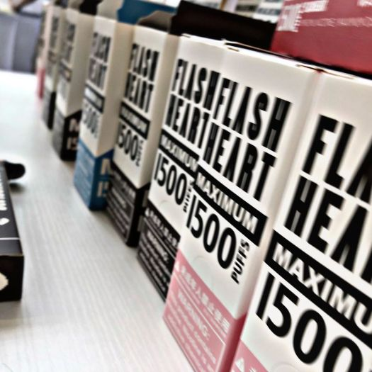 Flash Heart disposable vape review
