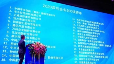 5 e-cigarette and e-cigarette-related companies listed in Shenzhen's top 500