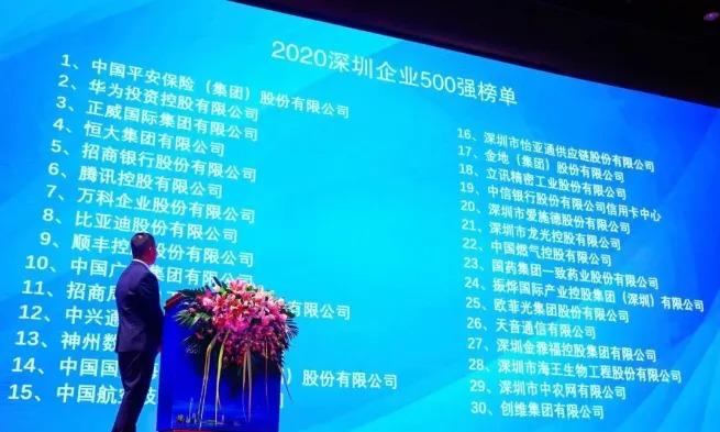 5 e-cigarette and e-cigarette-related companies listed in Shenzhen's top 500