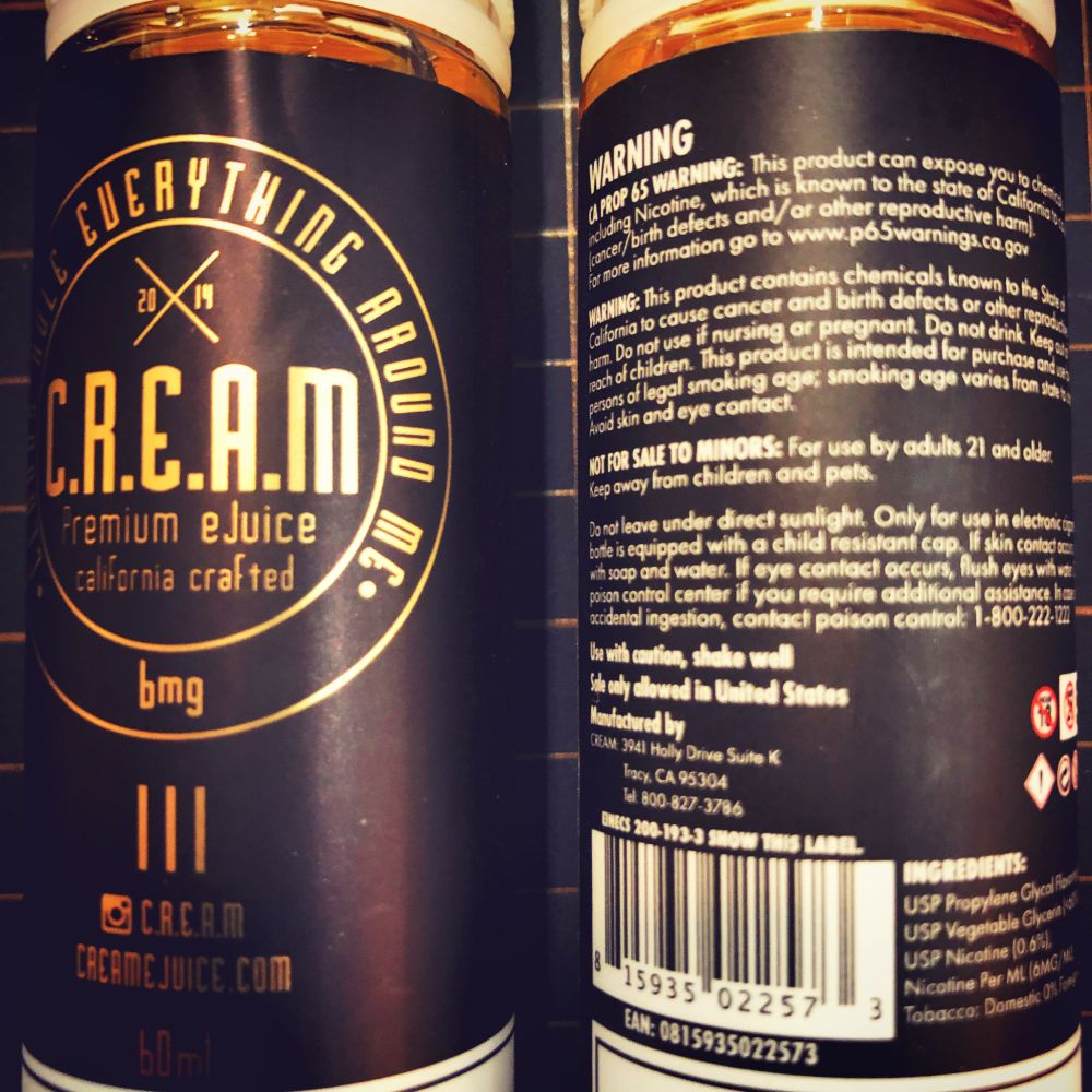 Cream E-Juice