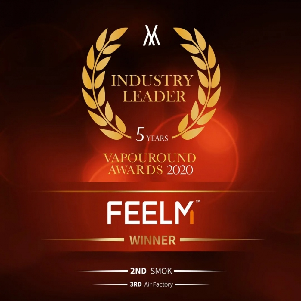 FEELM won Industry Leader Award from Vapouround
