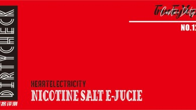 HeartELECTRICITY SALT NICOTINE E-Juice Review
