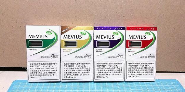 プルームテック用のメンソール系4種類!