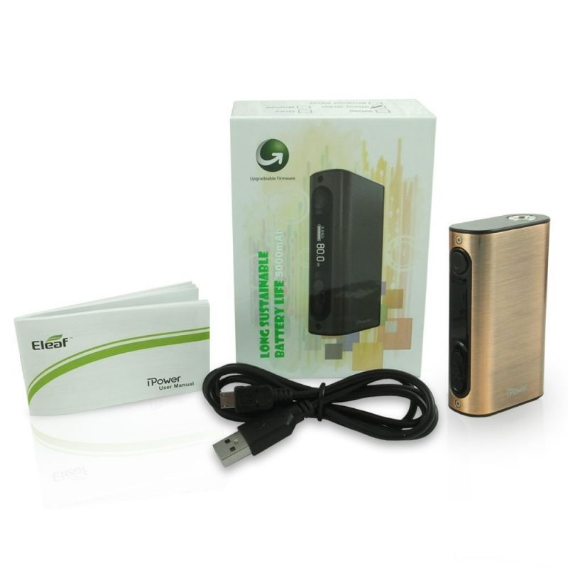Eleaf iPower 5000mAh / 80w – £25.90 delivered