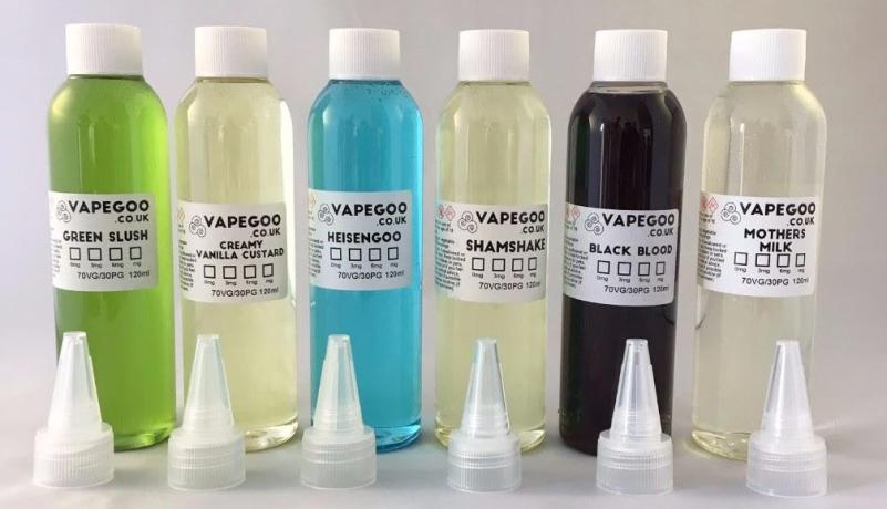 6x VapeGoo 120ml E-Liquid (720ml total) – £45.00 delivered