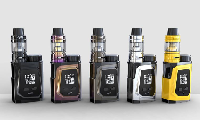 IJOY CAPO 100W Squonker Kit + 20700 Battery – £56.23