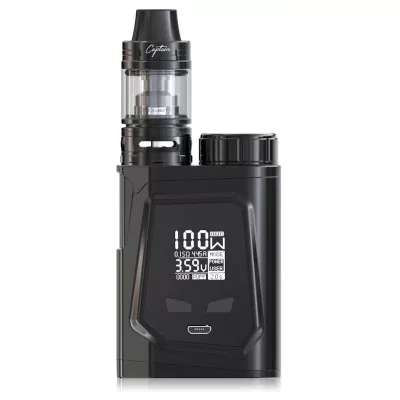 IJOY CAPO 100 TC Box Mod Kit with Captain Mini – £30.30