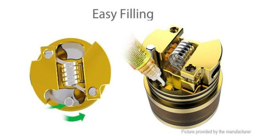 Oumier Wasp Nano RDA easy filling system