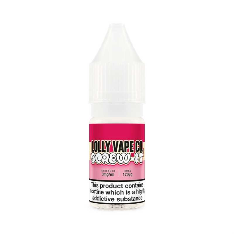 3 x 10ml Screw-It Lolly Vape Co 3mg E-Liquid (30ml) – £4.99