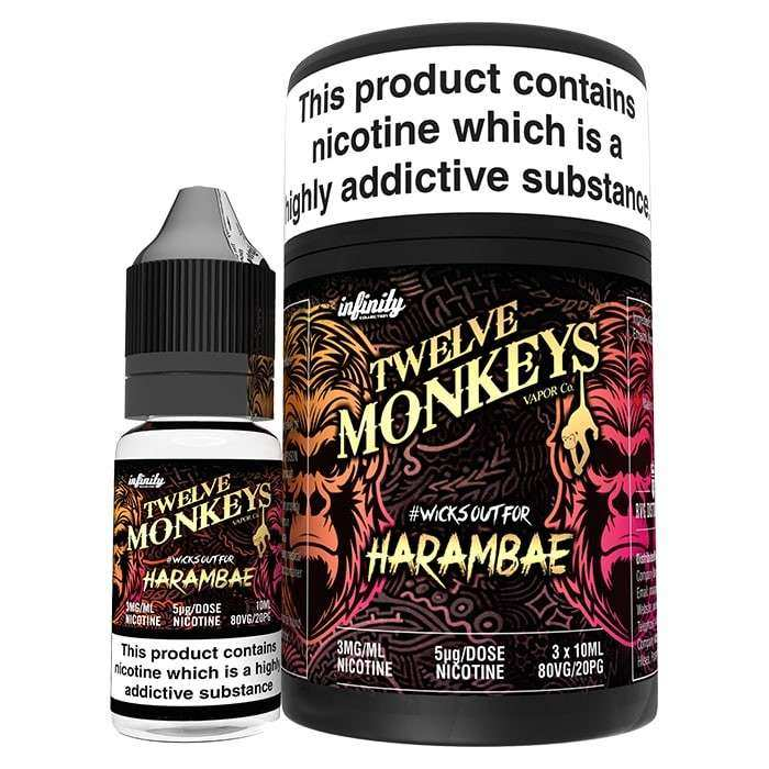 30ml (3x 10ml) Twelve Monkeys Harambae E-Liquid – £8.44 at Vapour Depot