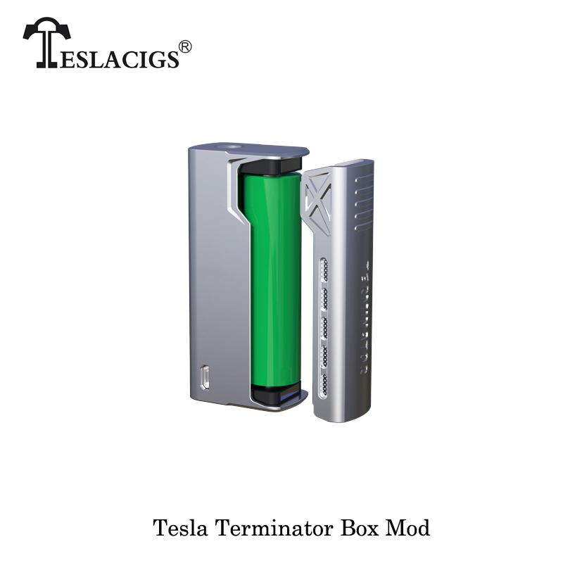 Original Teslacigs Hassle Free Vaping 90w Mod Stainless Steel