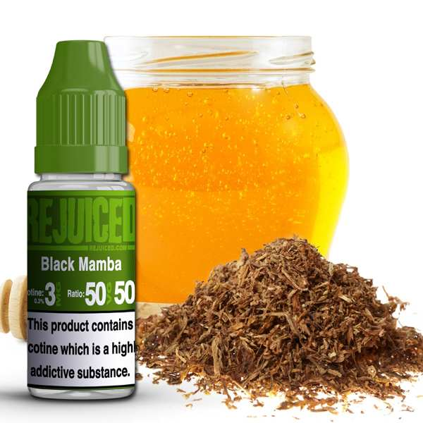 Black Mamba Bacco E-Liquid (10ml) by REJUICED for £1.25
