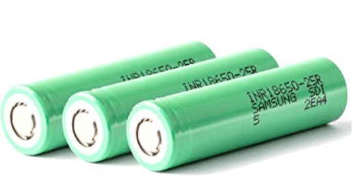 3x Samsung 25R 2500mah 18650 Battery (Case Included) – £12.99 from Amazon UK
