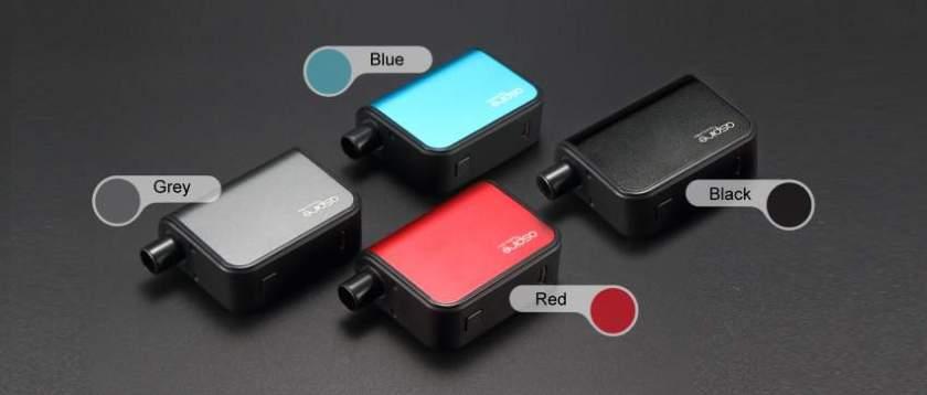 Aspire Gusto Mini Pod Vape Kit colours