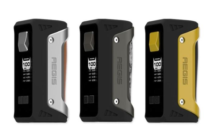 GeekVape Aegis 100W Mod (Delivered + FREE E-Liquid) – £39.99 at TECC UK