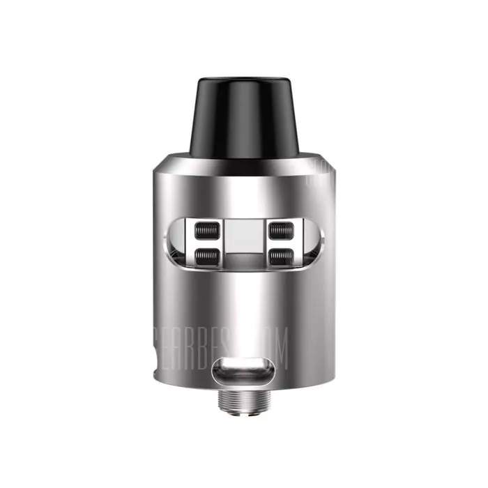 Geekvape Tsunami 24 RDA Glass Window Version (Silver) – £7.82