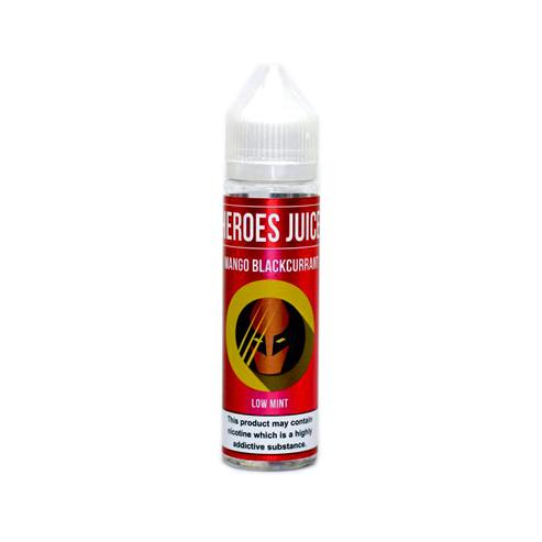 Mango Blackcurrant by Heroes Juice (60ml Shortfill) – £9.75 at Vape Potions