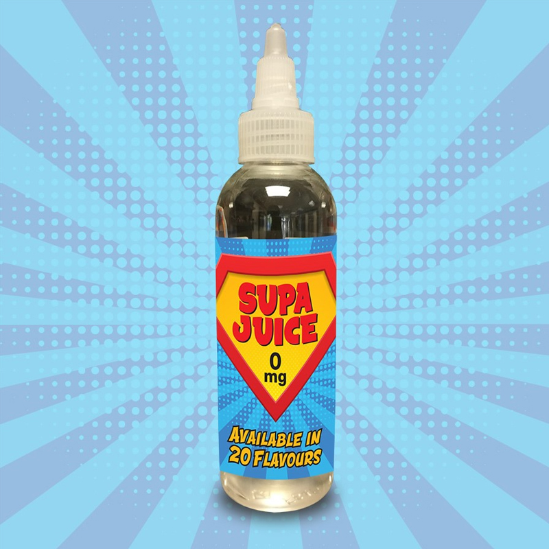 80ml Supa Juice – Multiple Flavours – (incl 1x Nic Shot) Only £6.67