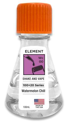 Element – Watermelon Chill ELiquid – 120ml Shortfill (incl Nic Shots) – £18.85 at Vape Superstore