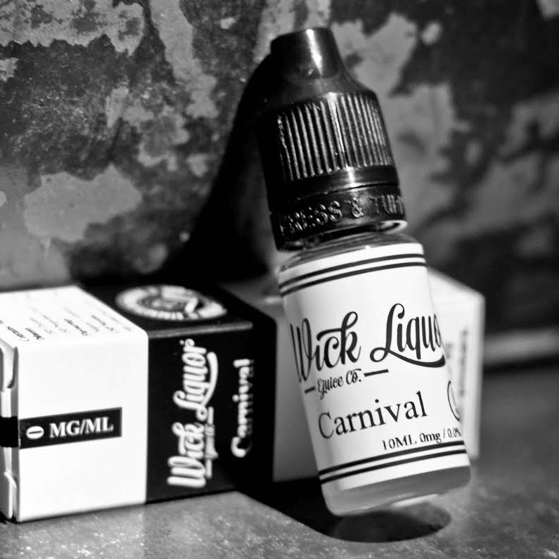 Wick Liquor – Carnival 10ml E-Liquid – £1.76 at SpaceInvapers