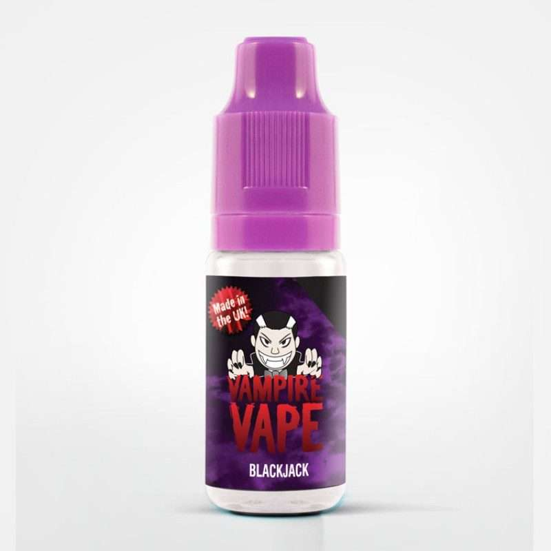 10ml Vampire Vape – Black Jack  (3mg) – £0.99