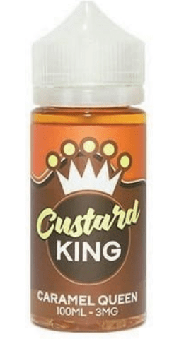 Caramel Queen by Custard King (120ml Shortfill) – £11.40