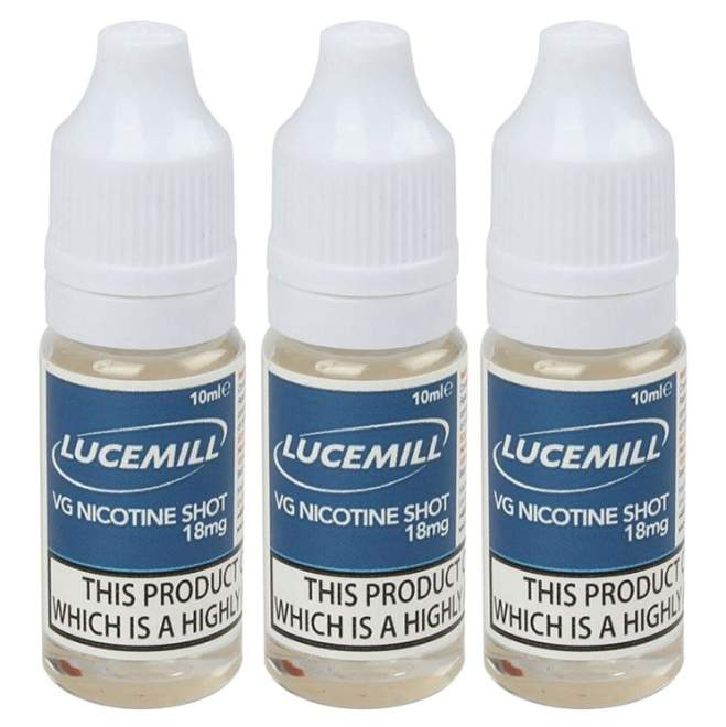 3x 10ml Nicotine Shots (18mg) – £1.79 from SpaceInVapers