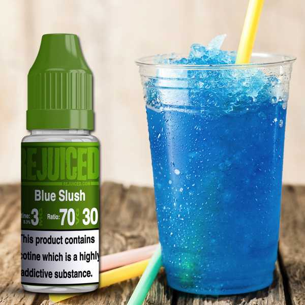 10ml Blue Slush E-Liquid by Rejuiced – £0.93