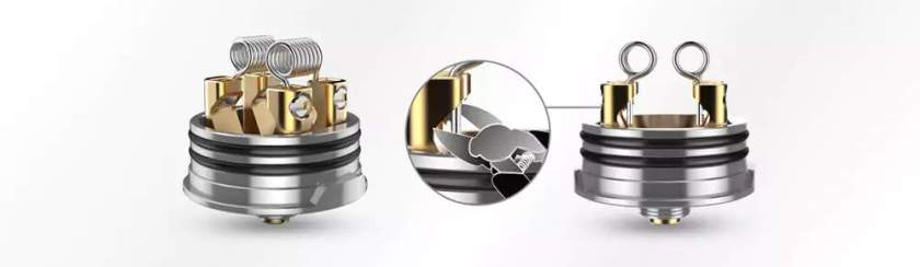 Digiflavour Drop RDA with 4 large post holes