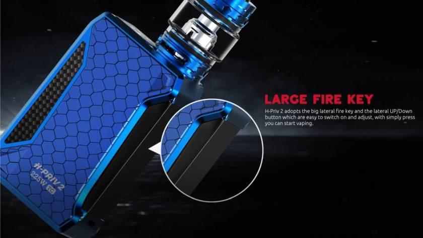 Smoktech H-Priv 2 225w Large Fire Key
