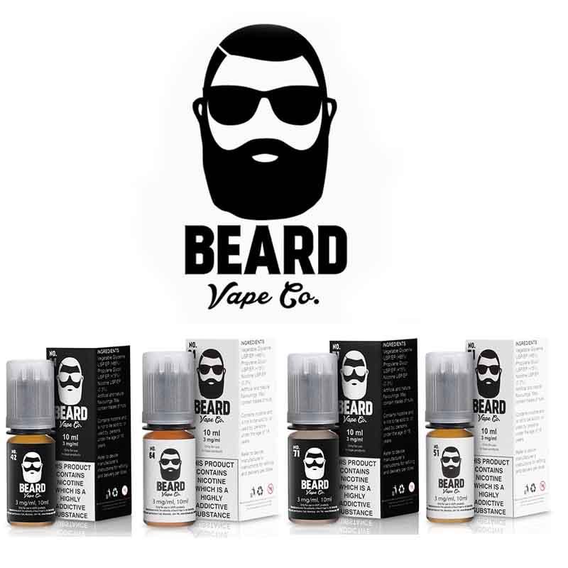 Beard Vape Co Mix N' Match Any 4 Flavours – £14.00