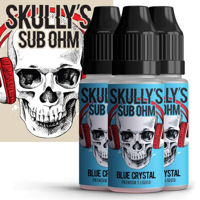 70% off Skully Premium E-Liquid – 10ml for £1.50 or 100ml for £10.00