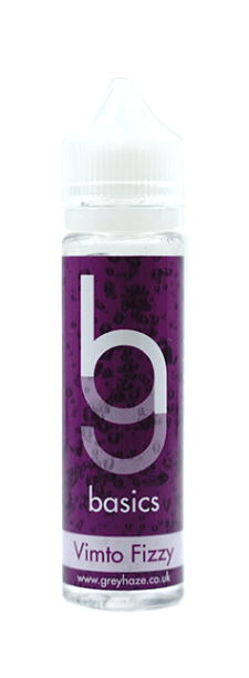 Vimto Fizzy E-Liquid Shortfill – 50ml by Grey Haze Basics – £6.80