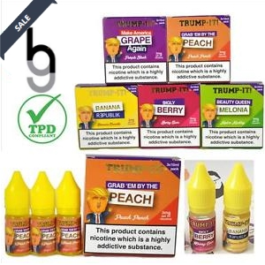 Trump-It E-Liquid (3x 10ml) – £6.38 – £6.80 at Grey Haze