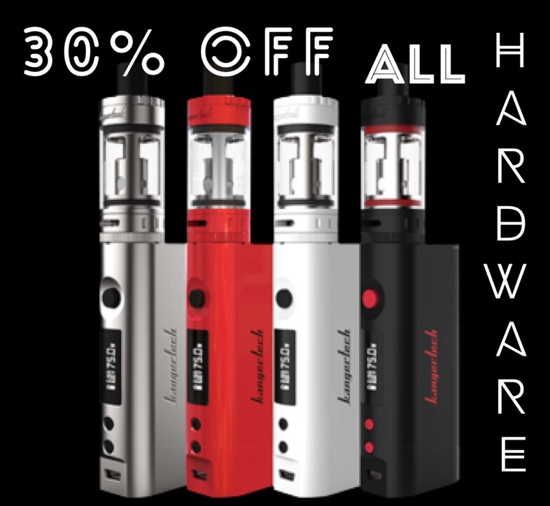 30% Off ALL Hardware  at Vape With Us Online