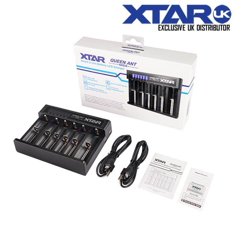 Xtar MC6 Queen Ant Charger at Cloudstix