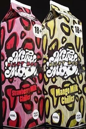 Milky Moo E- Liquids 50ml – £3.75