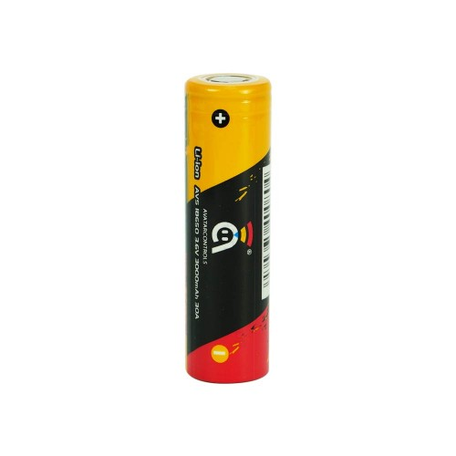 Avatar Gold 3000mAh 18650 Battery – Only £7.99 At TECC!
