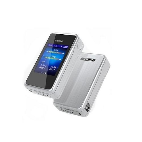 Sigelei T200 200W TC Box Mod with Touch Screen Stainless – £22.00
