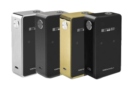 Sigelei Snowwolf 200W Plus TC 235W Box Mod – £31.14