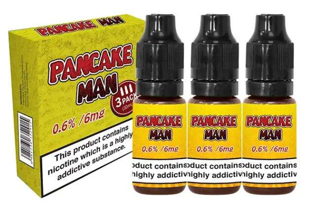 30ml Pancake Man by Vape Breakfast Classics (3mg) – £3.49